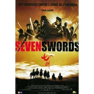 Seven Swords (2005) 27 x 40 Movie Poster French Style A