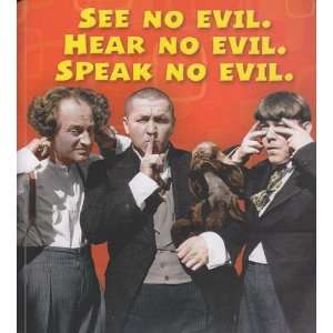 with Sound Three Stooges See No Evil, Hear No Evil, Speak No Evil