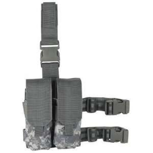 Drop Leg Platform W/ Attached M4/M16 Double Magazine Pouch Mag:
