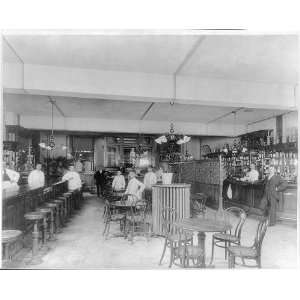 Restaurant Saloon,Bars,Table,young busboys,General View