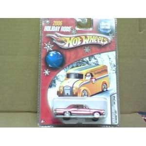 Hot Wheels 2006 Holiday Rods Red 65 Pontiac GTO Toys