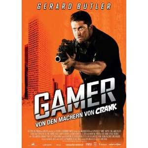 Gamer Movie Poster (11 x 17 Inches   28cm x 44cm) (2009) German Style