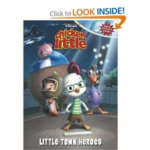 Chicken Little Little Town Heroes (Deluxe Coloring Book