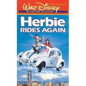 Herbie Rides Again [VHS] Helen Hayes, Ken Berry