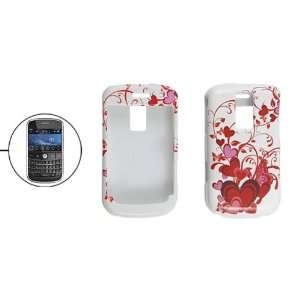 Gino Hard Plastic Red Heart Cover Shell Case for