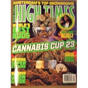 High Times April 2011 Cannabis Cup 23 Kid Cudi Outdoor