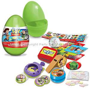 ,Surprise Egg   Toy Story. Plastic egg with candy and surprise inside