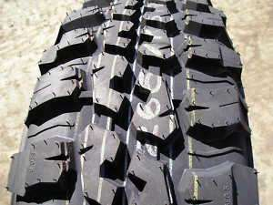 Federal 265/75r16 Mud Terrain truck tires LT 2657516, off road