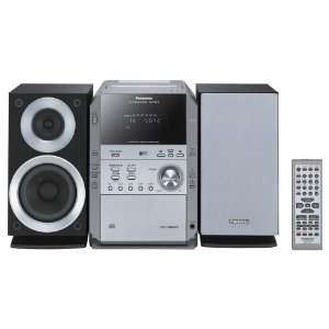 SC PM193 5 CD Micro Shelf System with 2 way Speakers Electronics