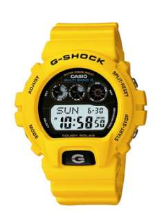 Casio G Shock Solar Atomic Watch   Yellow   CASDW6900A9ER17