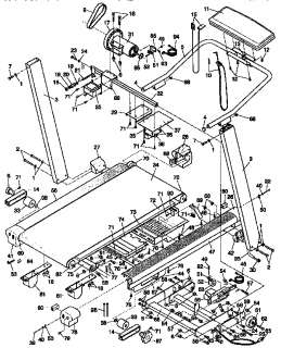 LIFESTYLER Lifestyler expanse 2000, treadmill Parts  Model 831297273