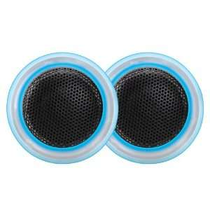 Dual TS10 1 Inch Illuminite Soft Dome Tweeters Car Electronics