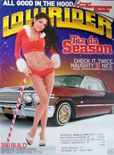 Lowrider Magazine 12/06 Angelina Zamora/350 Chrome Out