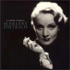 Lili Marlene de marlene dietrich en CD: compra y venta nuevos y de