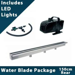 150cm Sheer Descent Water Blade Package (Rear Entry)  Style
