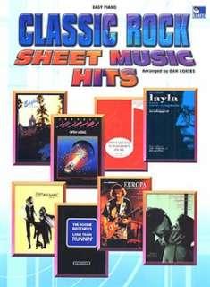 Classic Rock Sheet Music Hits (Easy Piano)   Piano, Vocal & Guitar