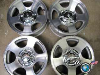 00 04 Ford F150 99 Expedition Factory 16 Polished Wheels OEM Rims