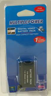 High Power Digital Battery Pack DMW BMB9 For Panasonic DMC FZ40 and