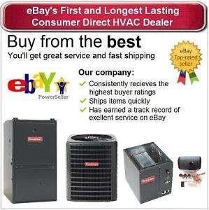 15 SEER 69k btu 95% 3 Heat 1 Cool Dual Fuel Gas Furnace / Heat Pump