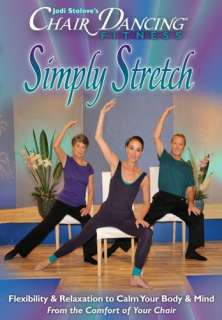 FITNESS SIMPLY STRETCH SENIOR DVD NEW OLDER ADULTS WORKOUT CITIZEN