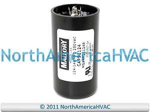 Mallory Motor Start Capacitor 124 149 MFD uf 250 VAC