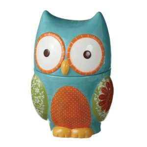 Vintage 1970s Style Owl Cookie Jar: Kitchen & Dining
