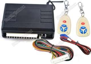 Car Remote Central Lock Locking Keyless Entry Kit System CH048 LED