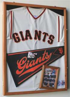 Large Sports Jersey Shadow Box Wall Display Case Rack
