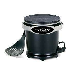 Presto 05420 Black 4 Cup Fry Daddy Deep Fryer LNIB