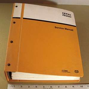 CASE SERVICE SHOP MANUAL   1825 UNI LOADER / SKID STEER   1987