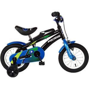 Edge 12 Kids Bike, Kids Bike with Training Wheels, Steel BMX Bike