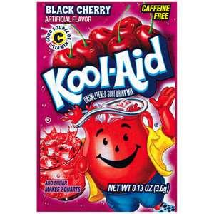 Kool Aid Black Cherry Unsweetened Soft Drink Mix, .13 oz