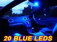 BLUE LED INTERIOR LIGHTS CHEVY EL CAMINO CAPRICE ASTRO