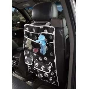 Guardian Gear Pawprint Car Seat Organizer Black