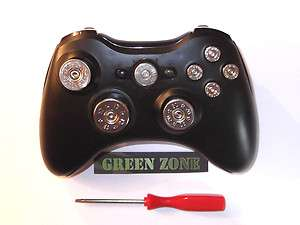 Xbox 360 Controller Full Set Of Bullet Buttons Silver Colour + T8 ,No