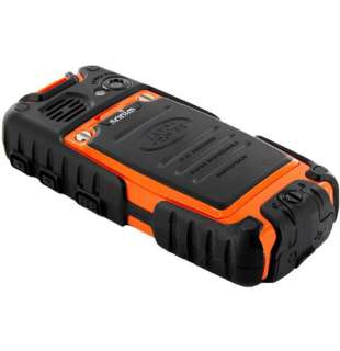 Teléfono celular rugoso de la impermeable naranja de Sonim Land Rover