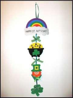St. Patricks Day 22 Door Greeter Craft Kit ABCraft