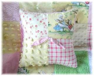 baby vintage bedding rhyme nursery crib