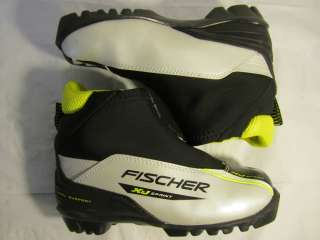 Jr. Fischer XJ Sprint NNN Cross Country Ski/Race Boots s 34 EU