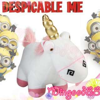 Despicable Me Agnes Unicorn Stuffed Fluffy Plush Deluxe Stuffed Toy