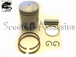 50cc PISTON KIT for DINLI T REX DL 601 KTM K 50 APACHE