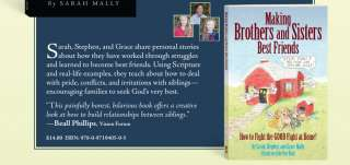 Making Brothers and Sisters Best Friends~Mally~NEW 0971940509