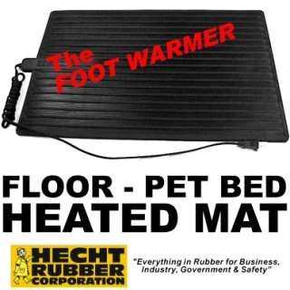 HEATED Electric Footwarmer Mat   Home/Office   Pet Bed