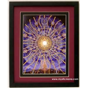 Nature of Mind By Alex Grey ,Framed & Double Matted 12x15