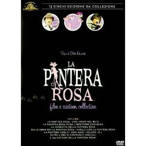 Pantera Rosa Film E Cartoon Collection (13 Dvd) Alfie Bass