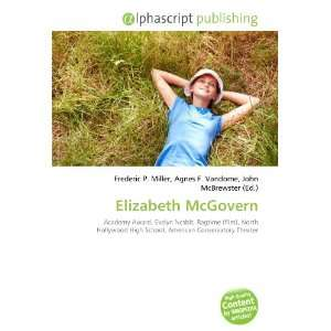 Elizabeth McGovern (9786133729117): Books
