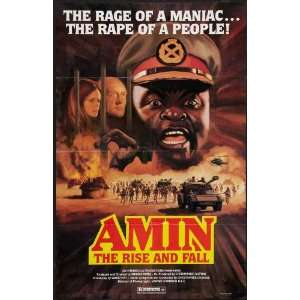 Rise and Fall of Idi Amin Poster Movie 27 x 40 Inches