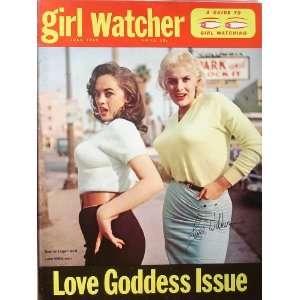 June Wilkinson Autographed Magazine (Girl Watcher) June