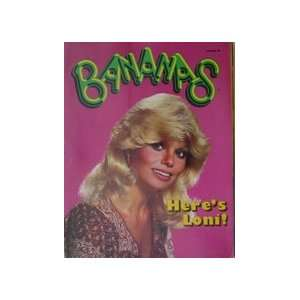 Bananas Magazine #44 Loni Anderson Cover various Books