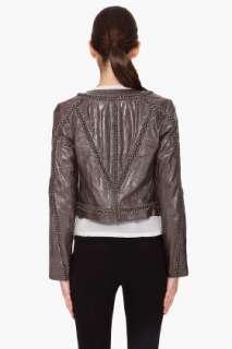 Haute Hippie Chain Embellished Jacket for women